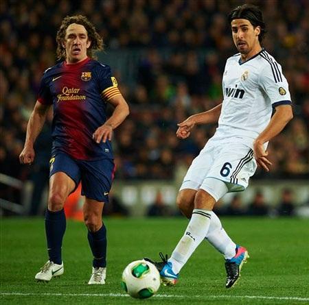 Puyol có thể sẽ chơi ở trận chung kết Copa del Rey tối nay