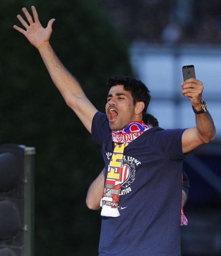 Diego Costa lỡ hẹn chung kết Champions League