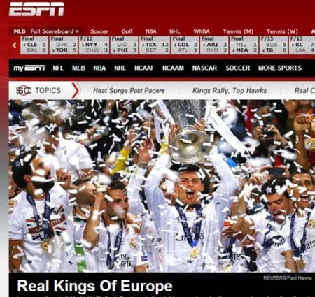 Real trở lại ngai vàng tại châu Âu.