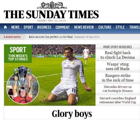 Chiến thắng của Ancelotti, Real Madrid hoàn tất mục tiêu Decima.
