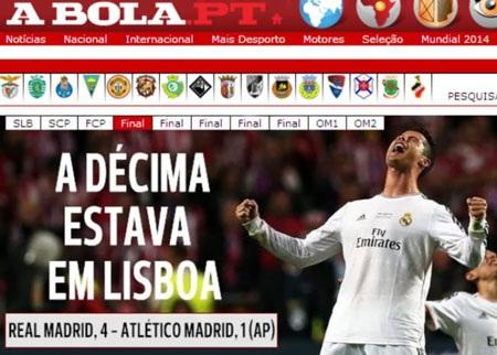 Giấc mơ Decima được hiện thực hóa tại Lisbon.