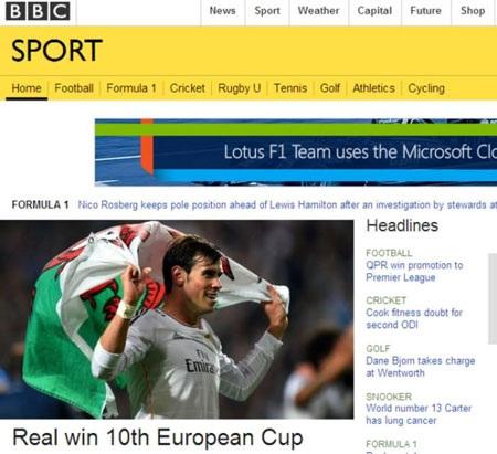Real vô địch châu Âu lần thứ 10