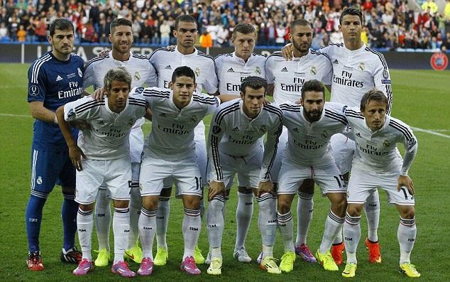 Real Madrid sở hữu đội hình đắt giá nhất hành tinh