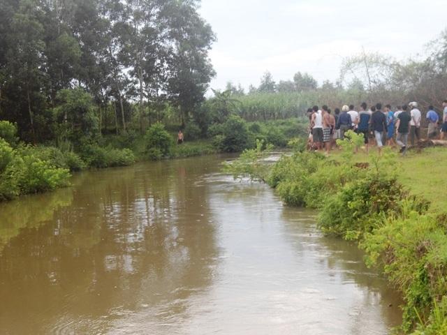 Con sông nơi Giang nhảy xuống tắm và chết đuối