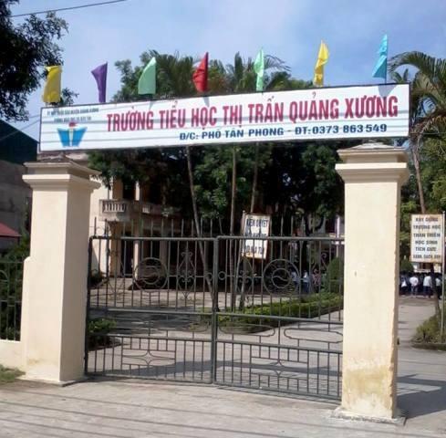 Trường tiểu học thị trấn Quảng Xương (huyệnQuảng Xương, Thanh Hóa).