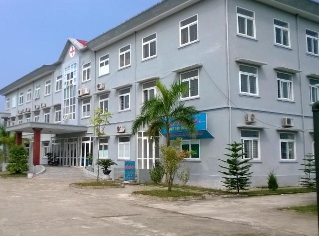 Bệnh viện Đa khoa huyện Thiệu Hóa, nơi xảy ra cái chết của mẹ con sản phụ Xuân