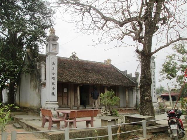 Đền thờ người dân lập nên để thờ nàng Bình Khương