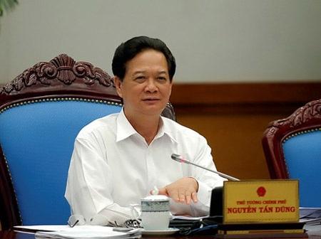 Thủ tướng Nguyễn Tấn Dũng chủ trì phiên họp thường kỳ tháng 10 của Chính phủ.