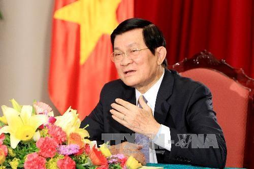 Chủ tịch nước Trương Tấn Sang. Ảnh: Nguyễn Khang – TTXVN