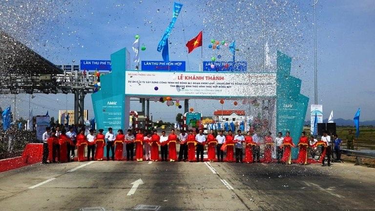 Khánh thành và đưa vào sử dụng trạm thu phí không dừng trên quốc lộ 1 tại tỉnh Quảng Bình