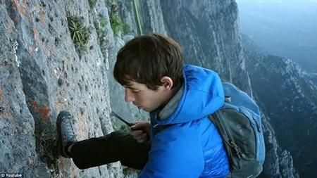 Honnold được mệnh danh là nhà leo núi xuất sắc nhất trong những người cùng tuổi anh
