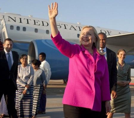 Chuyến thăm lịch sử tới Myanmar của Ngoại trưởng Clinton - 2