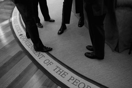 """""""Hậu trường"""" một ngày làm việc của Obama - 3"""