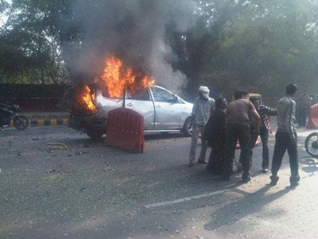 Ấn Độ bắt phóng viên liên quan đến vụ đánh bom nhà ngoại giao Israel