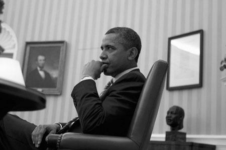 """""""Hậu trường"""" một ngày làm việc của Obama - 5"""