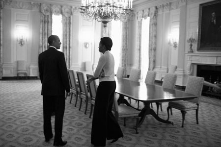 """""""Hậu trường"""" một ngày làm việc của Obama - 6"""