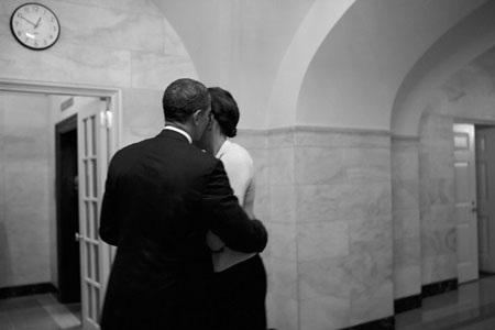 """""""Hậu trường"""" một ngày làm việc của Obama - 11"""