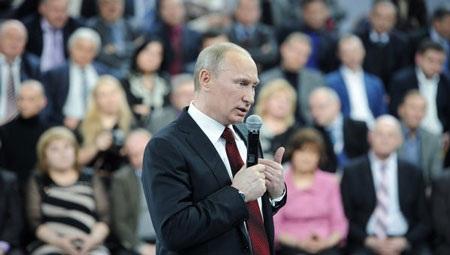 Vì sao ông Putin gần như chắc chắn thắng cử?