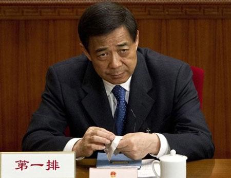 Ông Bạc Hy Lai tại một phiên họp quốc hội hồi tháng 3,ít ngày trước khi bị tước mọi chức vụ.