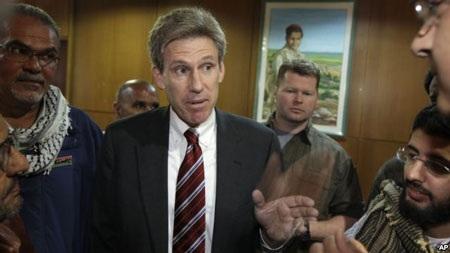 Đại sứ Mỹ tại Libya Christopher Stevens.