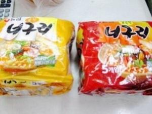 Hai loại mì ăn liền của hãng Nongshim bị phát hiện chứa chất gây ung thư. (Nguồn: Taipei Times).