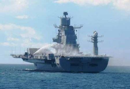 Tàu sân bay INS Vikramaditya của hải quân Ấn Độ