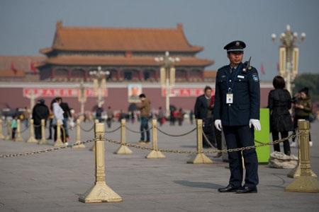 An ninh được thắt chặt tại Bắc Kinh trước đại hội Đảng lần thứ 18.