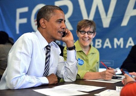 Tổng thống Obama đã vượt lên dẫn trước Romney