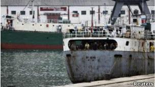 Cảng Rason, nơi ông Pae Jun-Ho nhập cảnh và bị bắt.