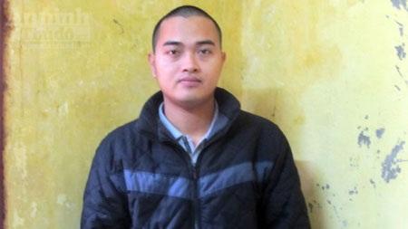 Nguyễn Xuân Thành tại cơ quan công an