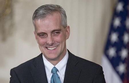 McDonough đã là một trong những cố vấn thân cận nhất của ông Obama.