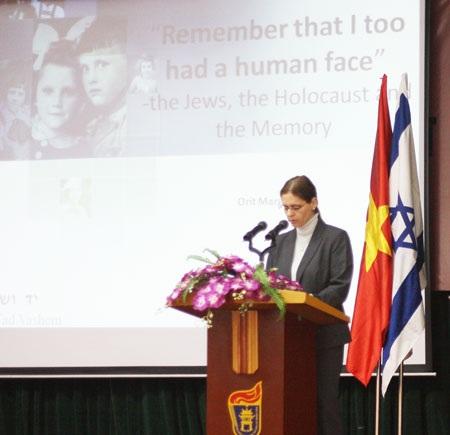 Tưởng niệm nạn diệt chủng Do Thái tại Việt Nam