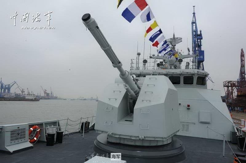 Tàu khu trục nhỏ Type 056 của Trung Quốc.