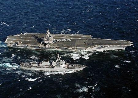 Tác chiến không-biển có thể châm ngòi chiến tranh hạt nhân Mỹ-Trung