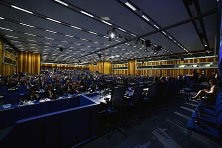 Ngày đầu tiên của Khóa họp 57 Đại hộiđồng IAEA tại Viên,Áo, ngày 16/9.