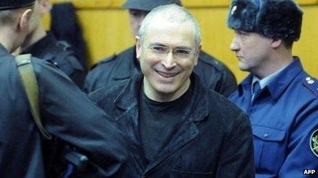 Cựu trùm dầu mỏ Nga Mikhail Khodorkovsky
