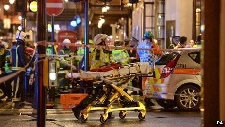 8 xe cứu hỏa và hơn 50 lính cứu hỏa đã có mặt tại hiện trường.