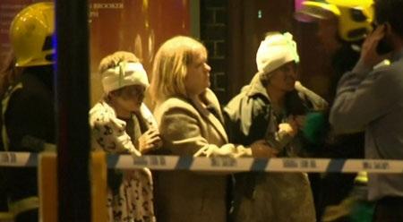 Theo BBC, tổng cộng 51 người đã được đưa tới viện, nhưng không ai bị nguy kịch đến tính mạng.