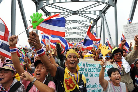 Thái Lan: Tràn ngập tin đồn đảo chính quân sự