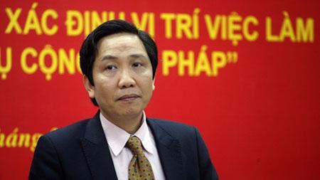 Thứ trưởng Bộ Nội   vụ Trần Anh Tuấn: Bảo đảm tối đa nguyên tắc công khai, công bằng.