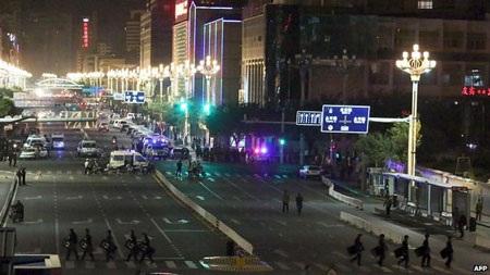 Nhà ga Côn Minh đã bị phong tỏa.