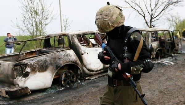 Phe biểu tình ở đông Ukraine kêu gọi quân Nga can thiệp