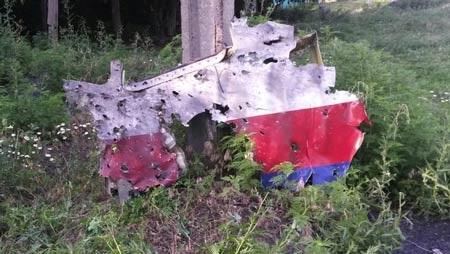 Bằng chứng cho thấy MH17 trúng tên lửa đất đối không mà Financial Times công bố.