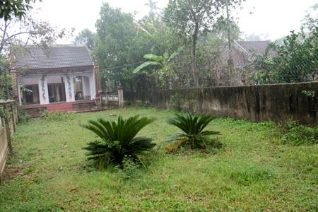 Mảnh đất mà nhà thờ họ Võ chi thứ đang tọa lạc chưa được cấp giấy chứng nhận quyền sử dụng đất