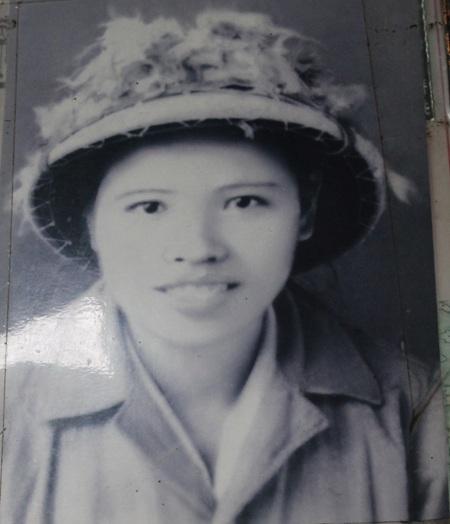 Tiểu đội trưởng Trần Thị Thông ngày trẻ