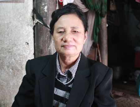 Bà Nguyễn Thị Thìn - tác giả tập truyện ngắn Liều thuốc thần kỳ