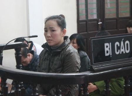 Dù đối mặt với án tử hình nhưng Nguyễn Hoài Thu vẫn điểm tĩnh một cách lạ lùng