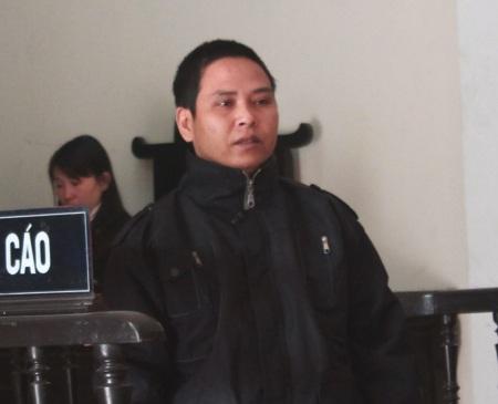 Bị cáo Nguyễn Văn Thi tại phiên tòa.