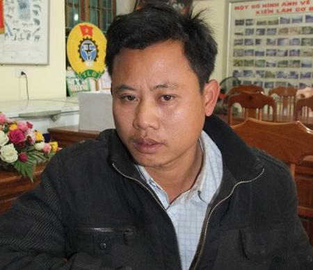 Đối tượng Nguyễn Văn Hào - người điểu khiển xe ô tô UN - 6688