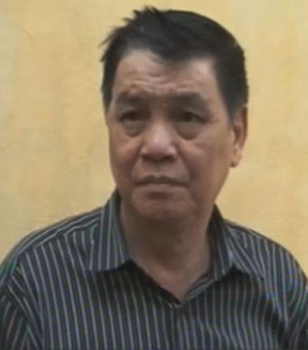 Đối tượng Chu Minh Đức - kẻ trực tiếp sản xuất thẻ BHYT giả (ảnh V.H).
